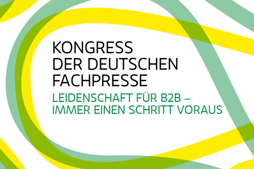 Weitkämper Technology ist Sponsor des Kongresses der Deutschen Fachpresse